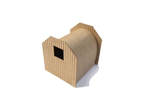 LX360-OO Anderson Shelter / Corrugated Workman's Hut - OO/4mm/1:76
